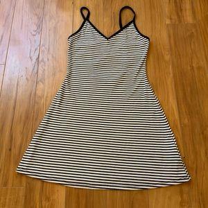 BDG Striped Midi Dress